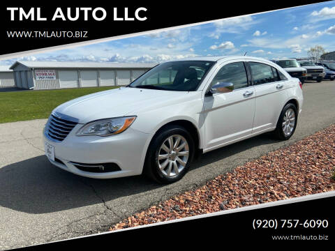 2013 Chrysler 200 for sale at TML AUTO LLC in Appleton WI
