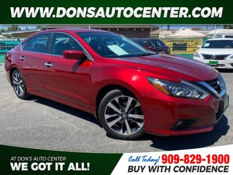 2017 Nissan Altima for sale at Dons Auto Center in Fontana CA