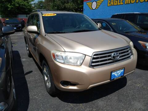 2009 Toyota Highlander for sale at Eagle Motors in Hamilton OH