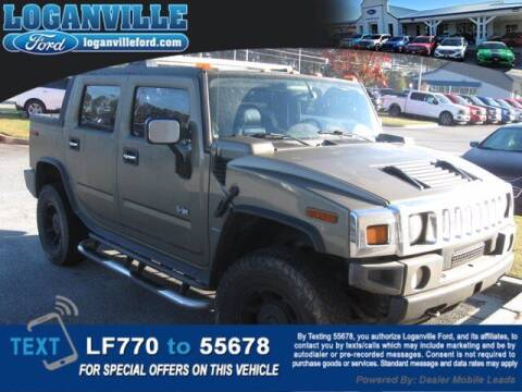 2005 HUMMER H2 SUT for sale at Loganville Quick Lane and Tire Center in Loganville GA