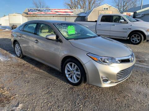 2014 Toyota Avalon for sale at GREENFIELD AUTO SALES in Greenfield IA
