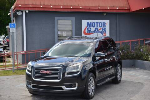 2014 GMC Acadia for sale at Motor Car Concepts II - Kirkman Location in Orlando FL