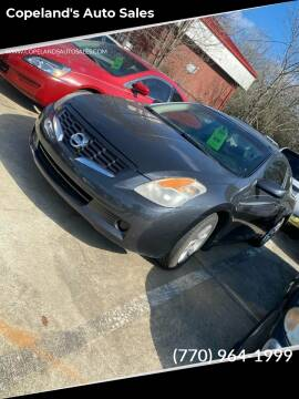 2008 Nissan Altima for sale at Copeland's Auto Sales in Union City GA