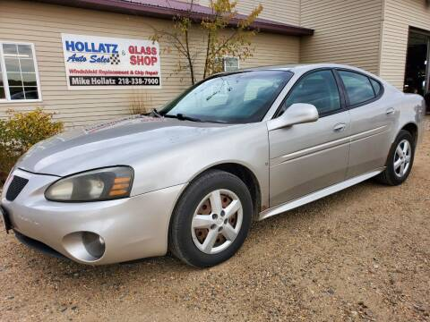 2007 Pontiac Grand Prix for sale at Hollatz Auto Sales in Parkers Prairie MN
