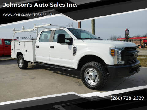 2019 Ford F-350 Super Duty for sale at Johnson's Auto Sales Inc. in Decatur IN