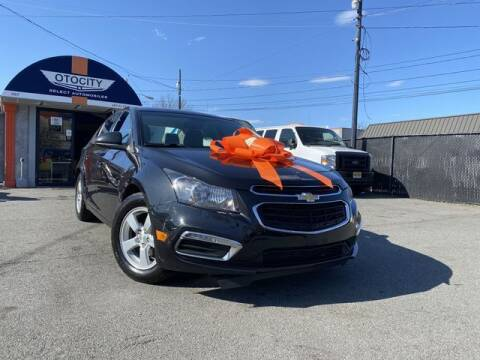 2015 Chevrolet Cruze for sale at OTOCITY in Totowa NJ