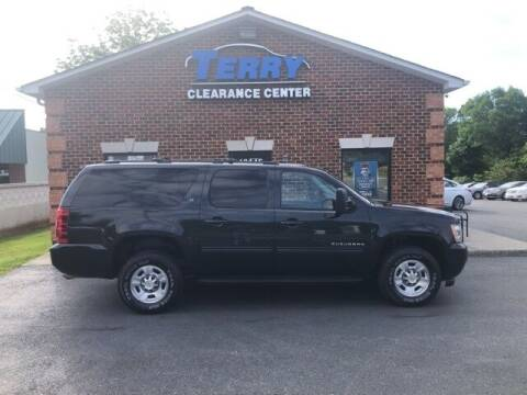 2012 Chevrolet Suburban for sale at Terry Clearance Center in Lynchburg VA
