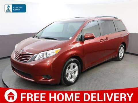 2017 Toyota Sienna for sale at Florida Fine Cars - West Palm Beach in West Palm Beach FL