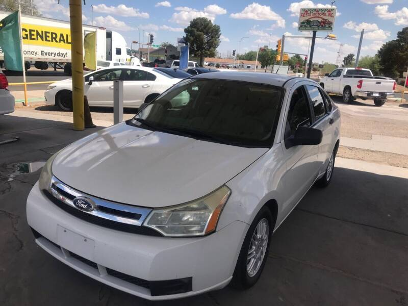 2010 Ford Focus for sale at Fiesta Motors Inc in Las Cruces NM