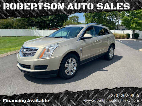 2011 Cadillac SRX for sale at ROBERTSON AUTO SALES in Bowling Green KY
