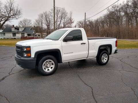 2015 Chevrolet Silverado 1500 for sale at Depue Auto Sales Inc in Paw Paw MI