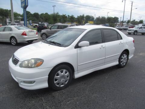 2005 Toyota Corolla for sale at Blue Book Cars in Sanford FL