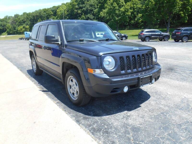 2014 Jeep Patriot for sale at Maczuk Automotive Group in Hermann MO