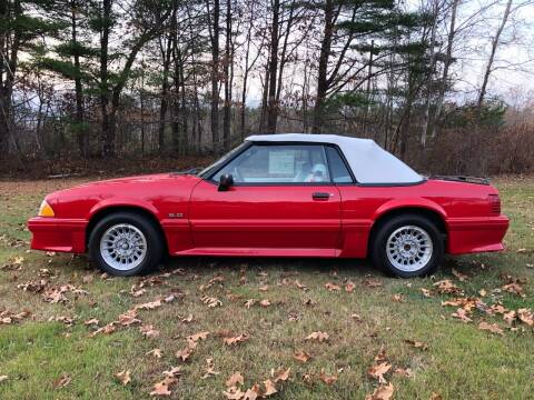 1990 Ford Mustang for sale at Cella  Motors LLC in Auburn NH