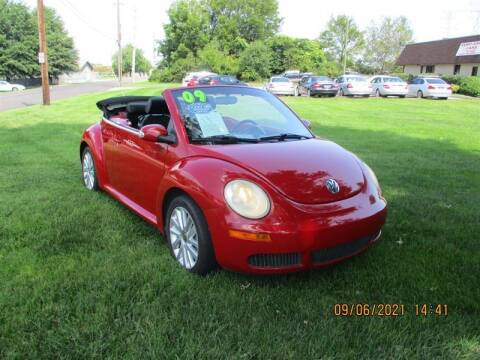 2009 Volkswagen New Beetle Convertible for sale at Euro Asian Cars in Knoxville TN