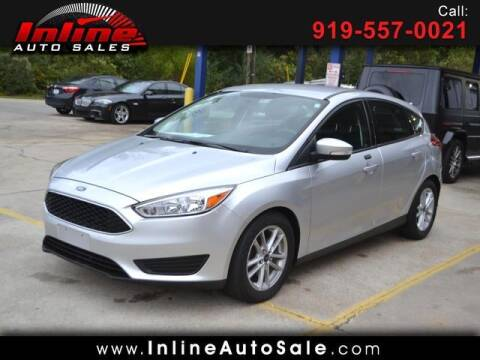 2016 Ford Focus for sale at Inline Auto Sales in Fuquay Varina NC