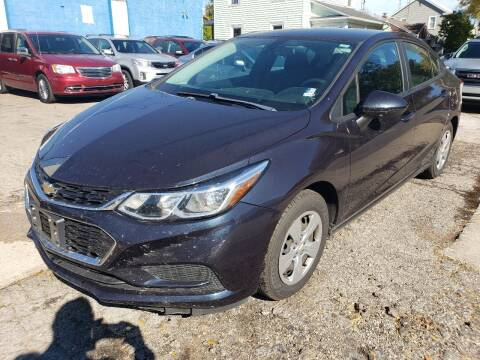 2016 Chevrolet Cruze for sale at M & C Auto Sales in Toledo OH