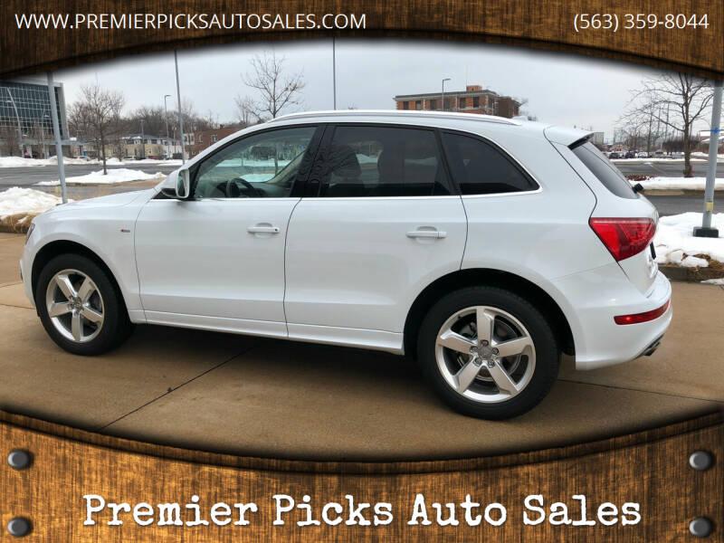 2012 Audi Q5 for sale at Premier Picks Auto Sales in Bettendorf IA