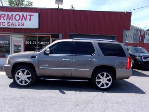 2012 Cadillac Escalade for sale at THURMONT AUTO SALES in Thurmont MD