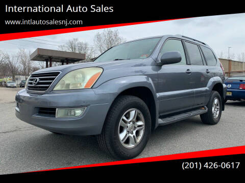 2004 Lexus GX 470 for sale at International Auto Sales in Hasbrouck Heights NJ