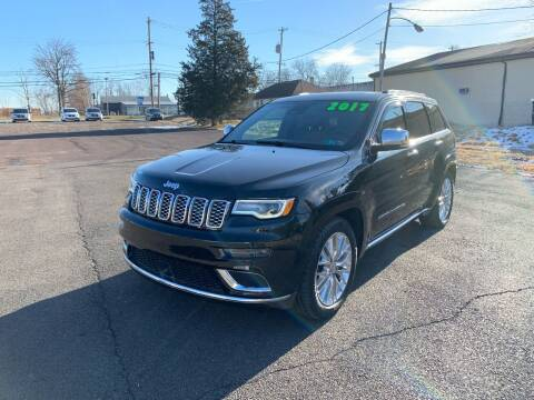 2017 Jeep Grand Cherokee for sale at Interstate Fleet Inc. Auto Sales in Colmar PA