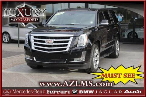 2017 Cadillac Escalade for sale at Luxury Motorsports in Phoenix AZ