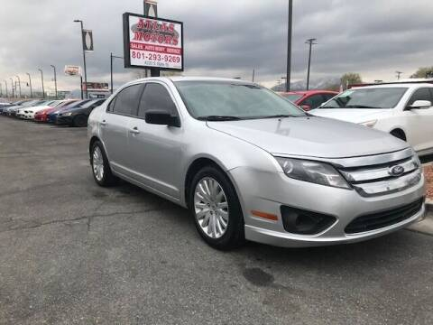 2012 Ford Fusion for sale at ATLAS MOTORS INC in Salt Lake City UT