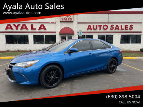 2017 Toyota Camry for sale at Ayala Auto Sales in Aurora IL