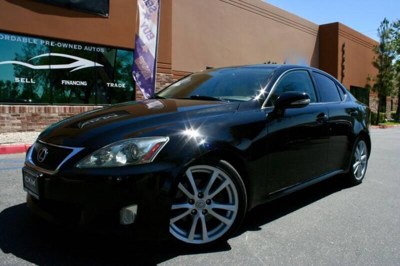 2009 Lexus IS 250 for sale at CK Motors in Murrieta CA