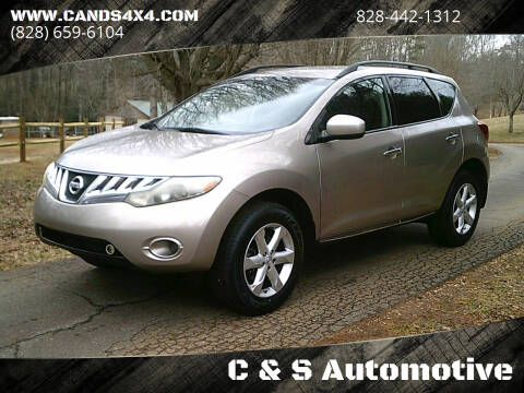 2009 Nissan Murano for sale at C & S Automotive in Nebo NC