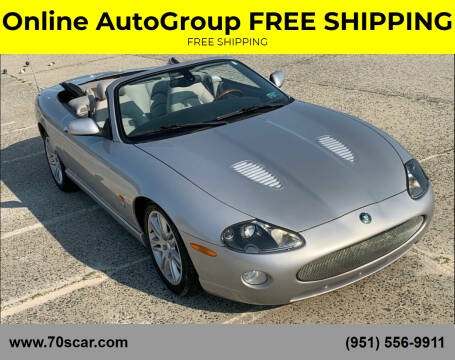 2005 Jaguar XKR for sale at Online AutoGroup FREE SHIPPING in Riverside CA