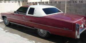 1976 Cadillac DeVille for sale at Haggle Me Classics in Hobart IN