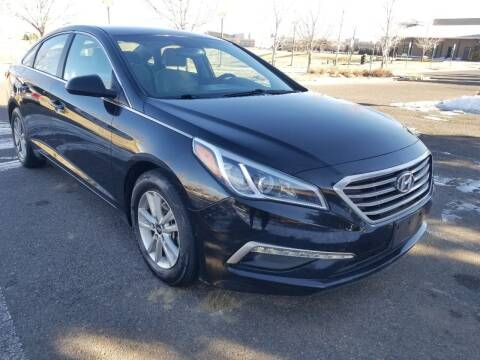 2015 Hyundai Sonata for sale at Red Rock's Autos in Denver CO