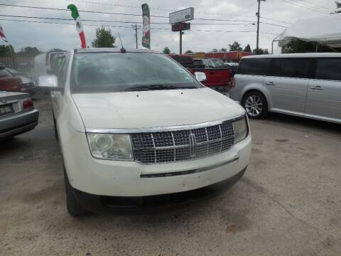 2007 Lincoln MKX for sale at SCOTT HARRISON MOTOR CO in Houston TX