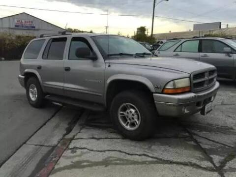 1999 Dodge Durango for sale at Auto Land in Bloomington CA