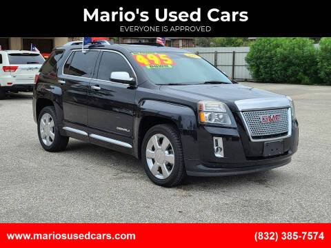 2013 GMC Terrain for sale at Mario's Used Cars - Pasadena Location in Pasadena TX