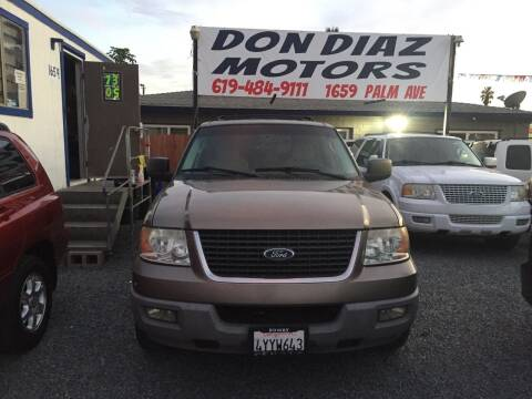 2003 Ford Expedition for sale at DON DIAZ MOTORS in San Diego CA