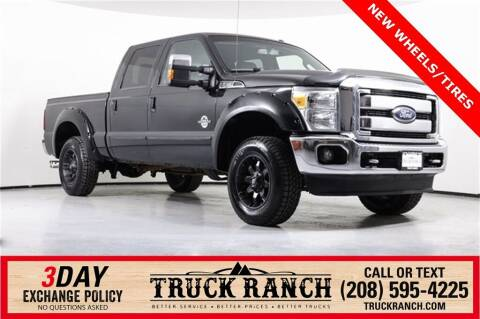 2012 Ford F-250 Super Duty for sale at Truck Ranch in Twin Falls ID