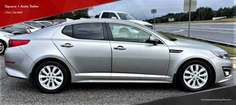 2014 Kia Optima for sale at Square 1 Auto Sales - Commerce in Commerce GA