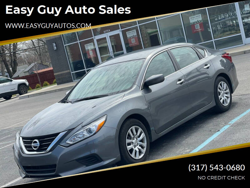 2018 Nissan Altima for sale at Easy Guy Auto Sales in Indianapolis IN