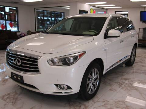 2014 Infiniti QX60 for sale at Dealer One Auto Credit in Oklahoma City OK