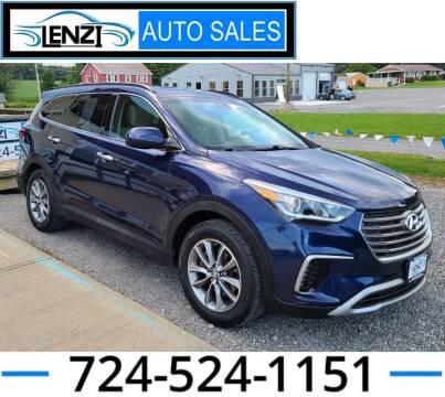 2017 Hyundai Santa Fe for sale at LENZI AUTO SALES in Sarver PA