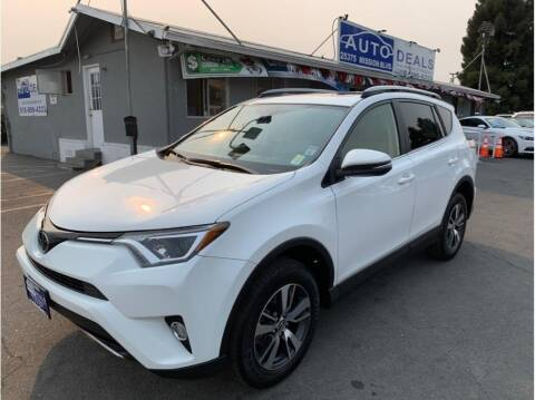2017 Toyota RAV4 for sale at AutoDeals in Hayward CA