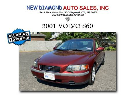 2001 Volvo S60 for sale at New Diamond Auto Sales, INC in West Collingswood NJ