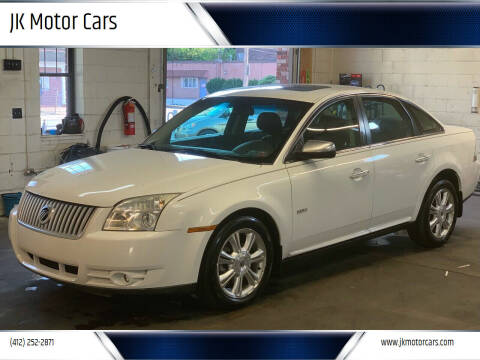 2008 Mercury Sable for sale at JK Motor Cars in Pittsburgh PA