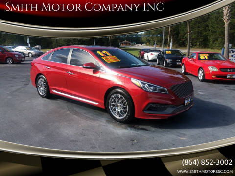 2017 Hyundai Sonata for sale at Smith Motor Company INC in Mc Cormick SC