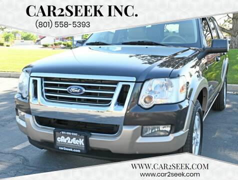 2007 Ford Explorer for sale at CAR2SEEK Inc. in Salt Lake City UT