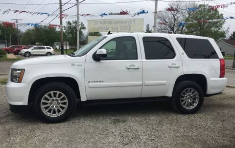 2008 Chevrolet Tahoe for sale at Antique Motors in Plymouth IN