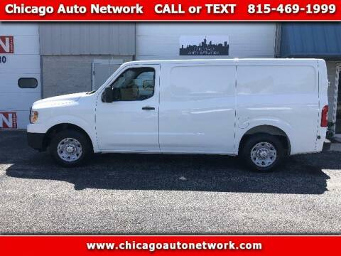 2012 Nissan NV Cargo for sale at Chicago Auto Network in Mokena IL