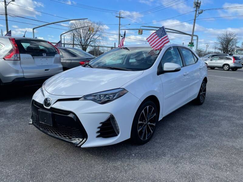 2018 Toyota Corolla for sale at American Best Auto Sales in Uniondale NY